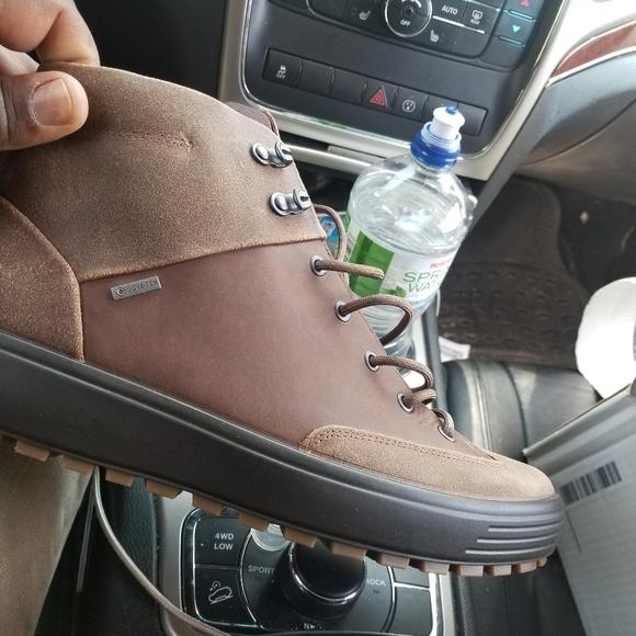 Ecco Shoes   Ecco Mens Soft 7 Tred Gtx